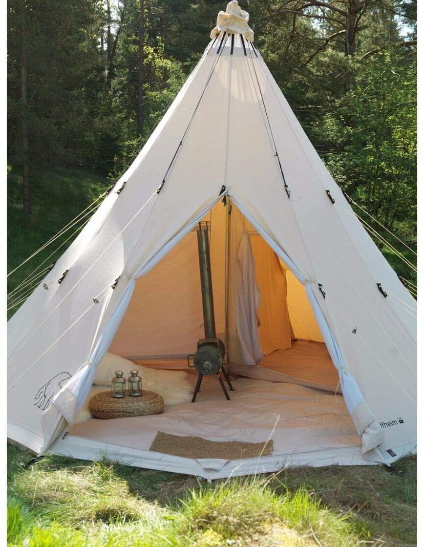 tente de camping tipi